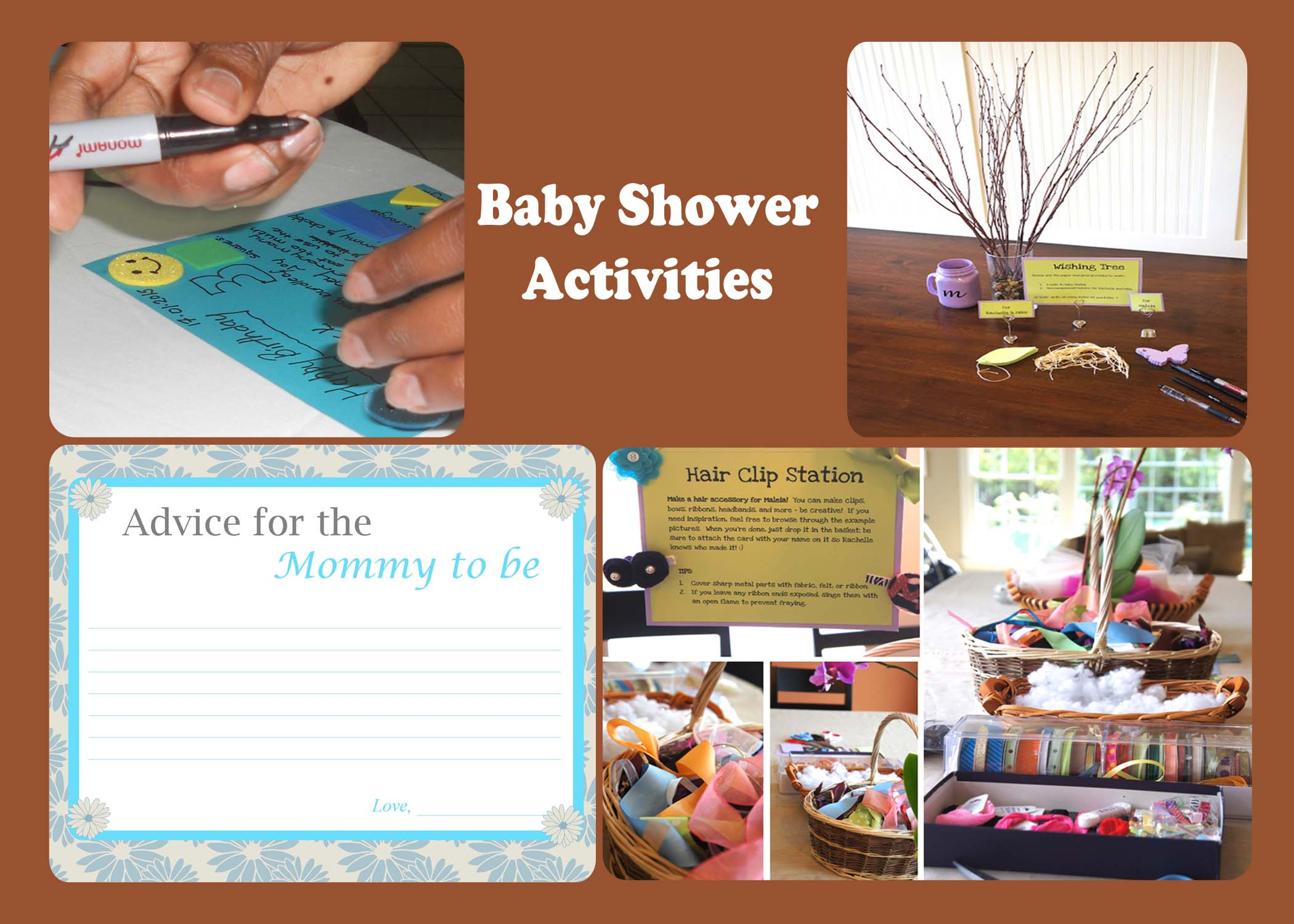 Fun baby shower activities for Bathroom designs games