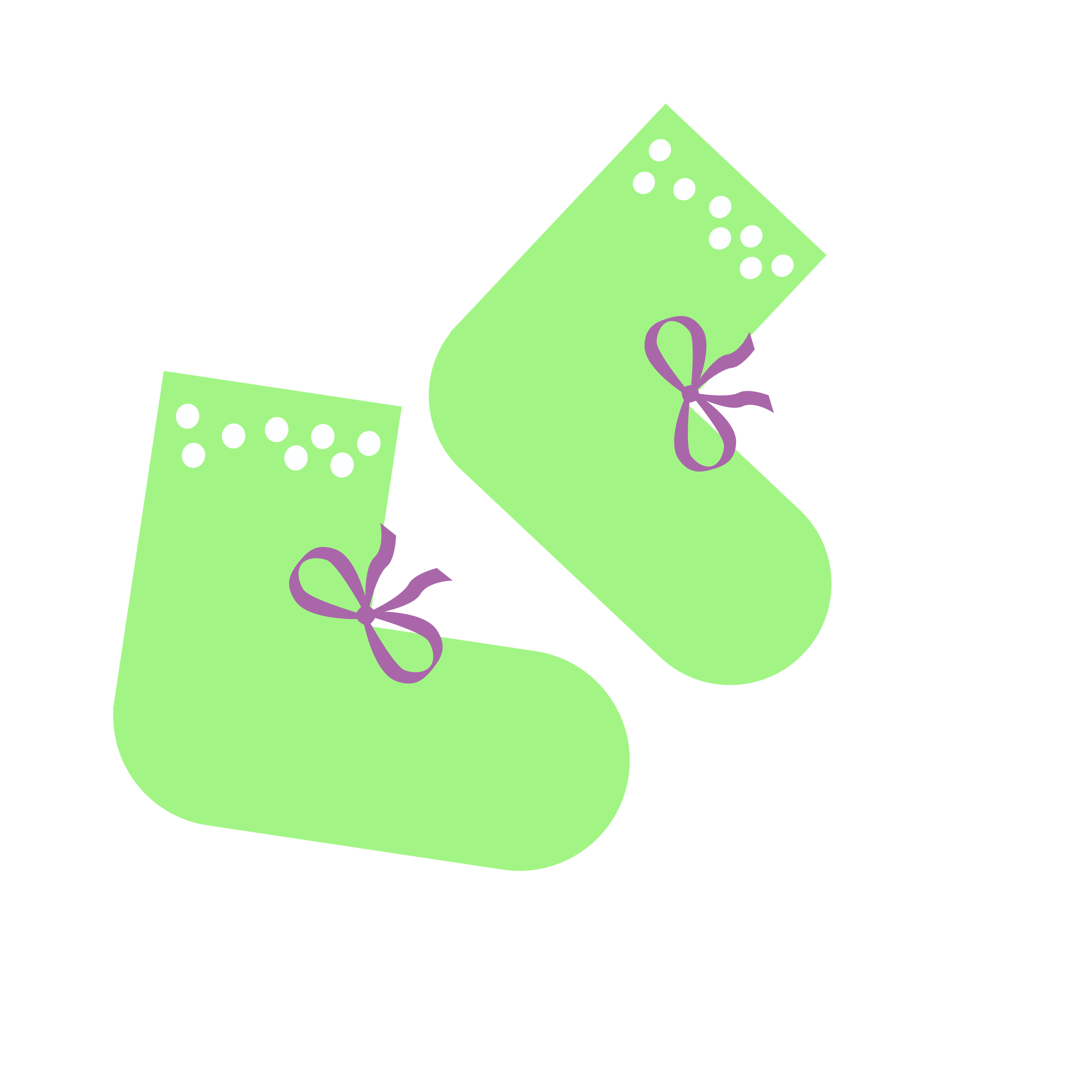 baby sock clipart