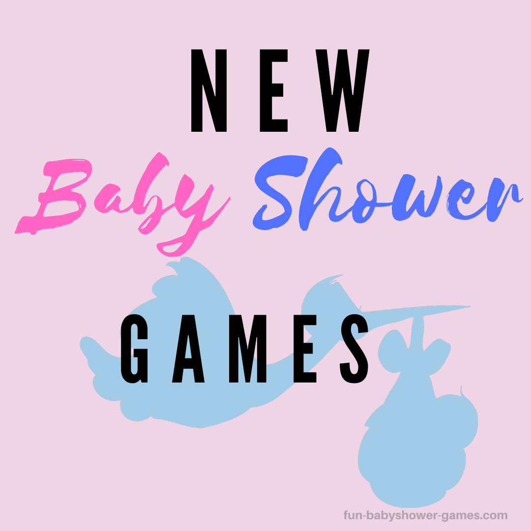 New Baby Shower Games