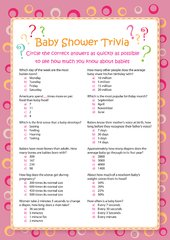 baby trivia game